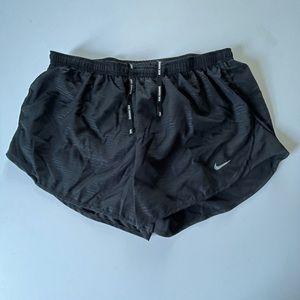 Nike Dri Fit Running Shorts Black Large